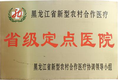 黑龙江中亚癫痫病医院被认定为新农合定点医疗